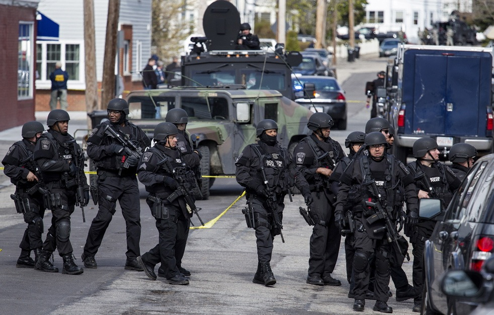 Trump: Let Our Police Armor up Like Soldiers