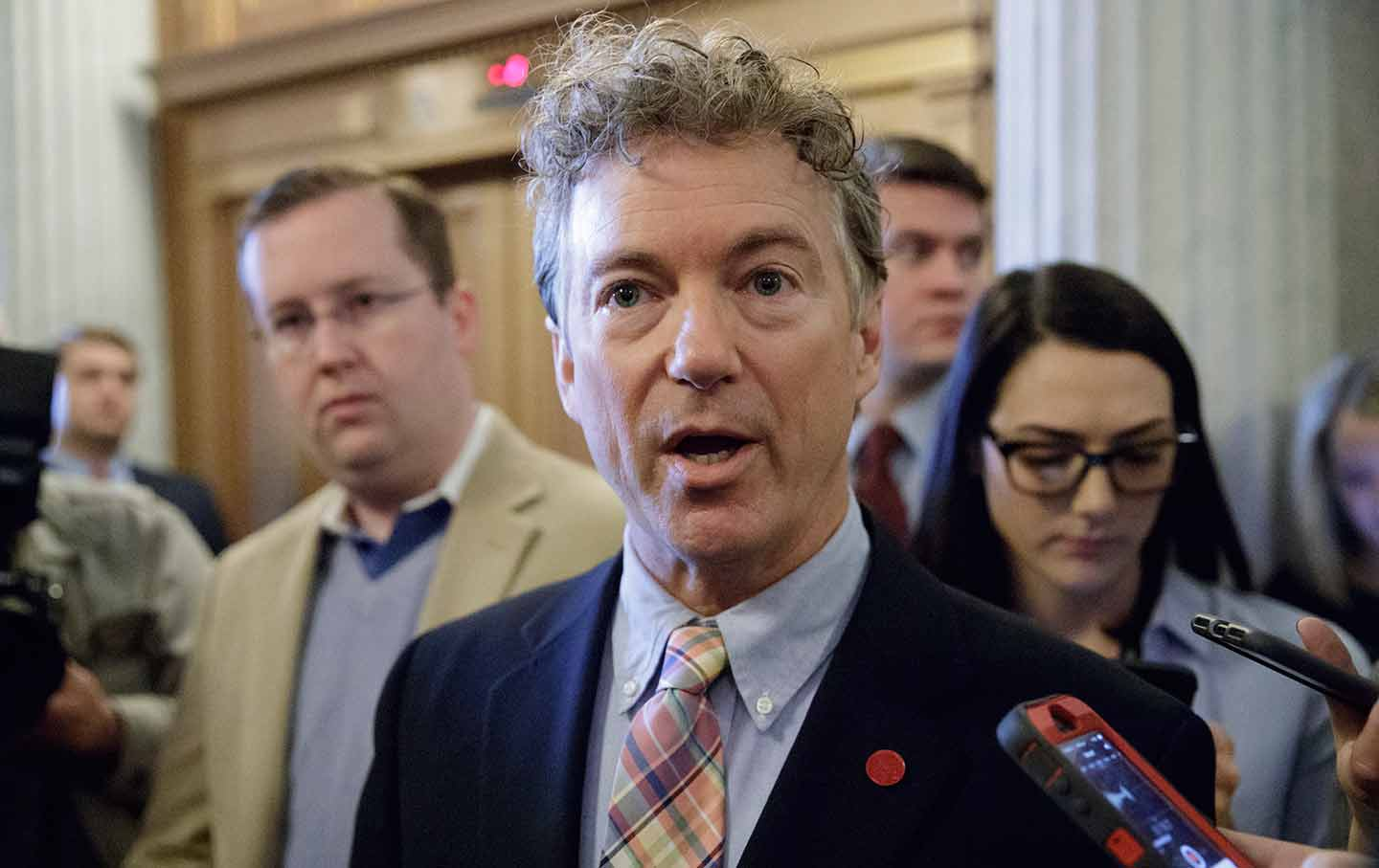 Rand Paul Wants Harvey Relief to Come From Spending Cuts