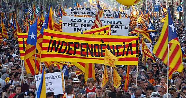 Mises and Rothbard on Catalan Secession