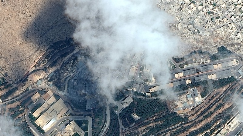 Chemical Facility Hit in Syria Strike Cleared Twice by Inspectors in 2017