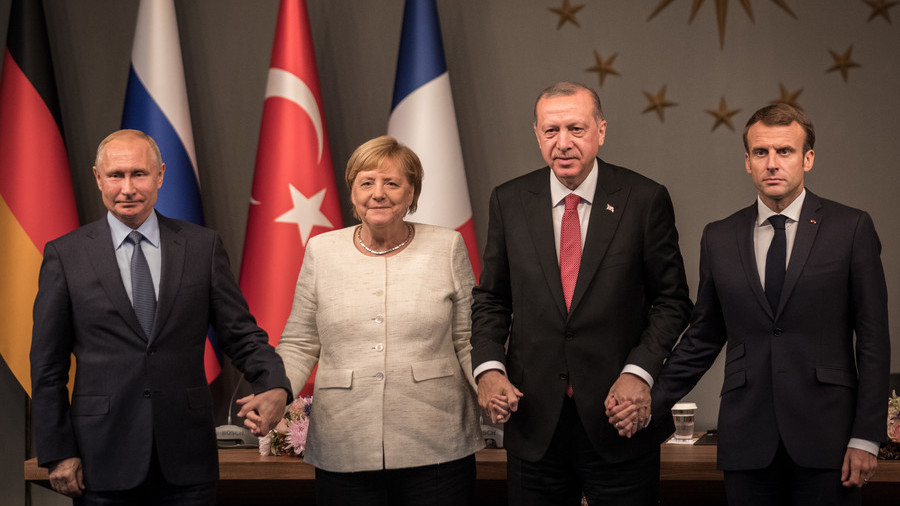 Here's why Europe went to Istanbul to talk Syria (without the U.S.)