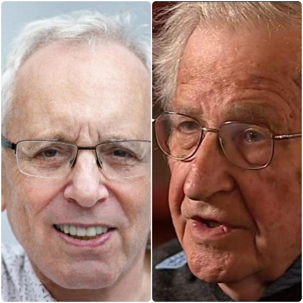 Episode 201: Gene Epstein on his 50-year Correspondence W/ Noam Chomsky