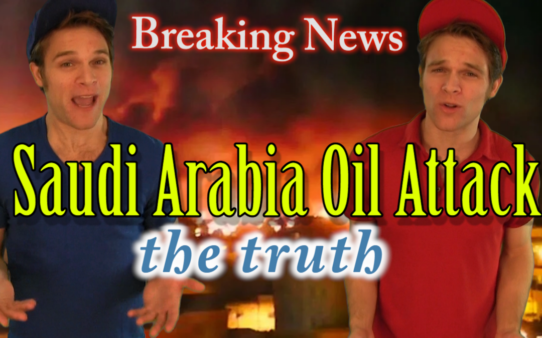 Saudi Arabia Oil Attack. What really happened?