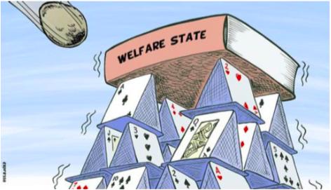 Welfare State: Good Rhetoric, But Bad Outcomes