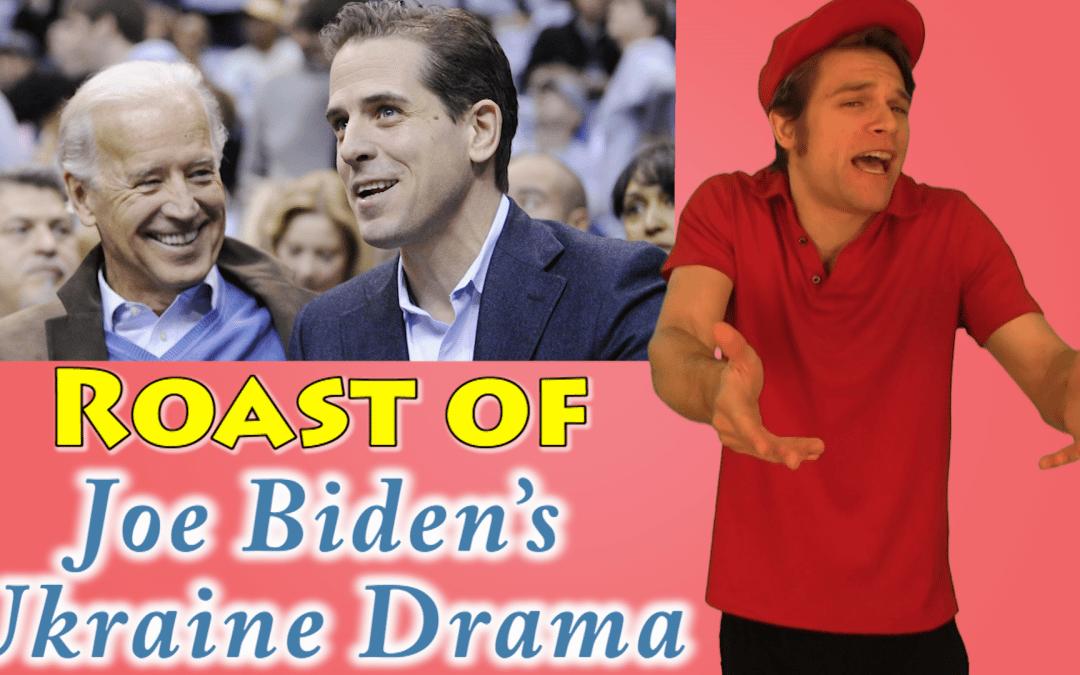 Libertarian Comedian DESTROYS Joe Biden Ukraine Drama