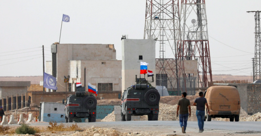 Russia Takes Over for US as Buffer Between Turkey, Syria