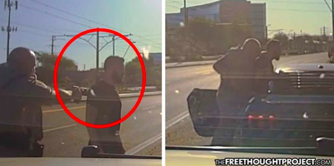 WATCH: State Trooper Pulls Gun on Veteran Speeding to Hospital to See His Dying Mother