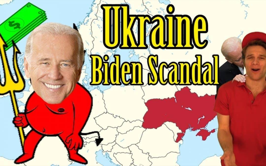Ukraine Coup & Joe Biden Scandal Explained w/ Humor