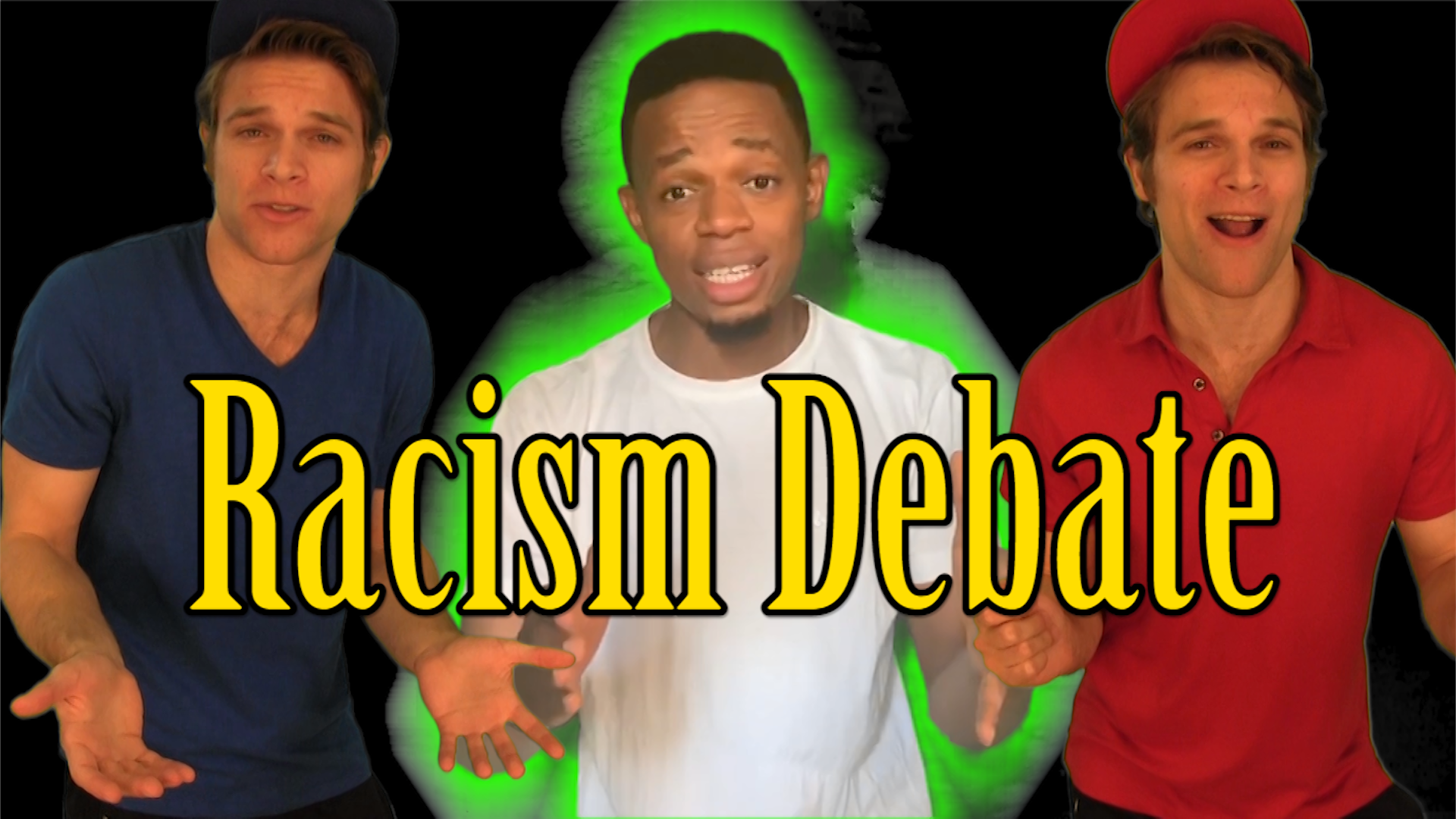 Comedy Racism Debate! Affirmative Action & Police Brutality