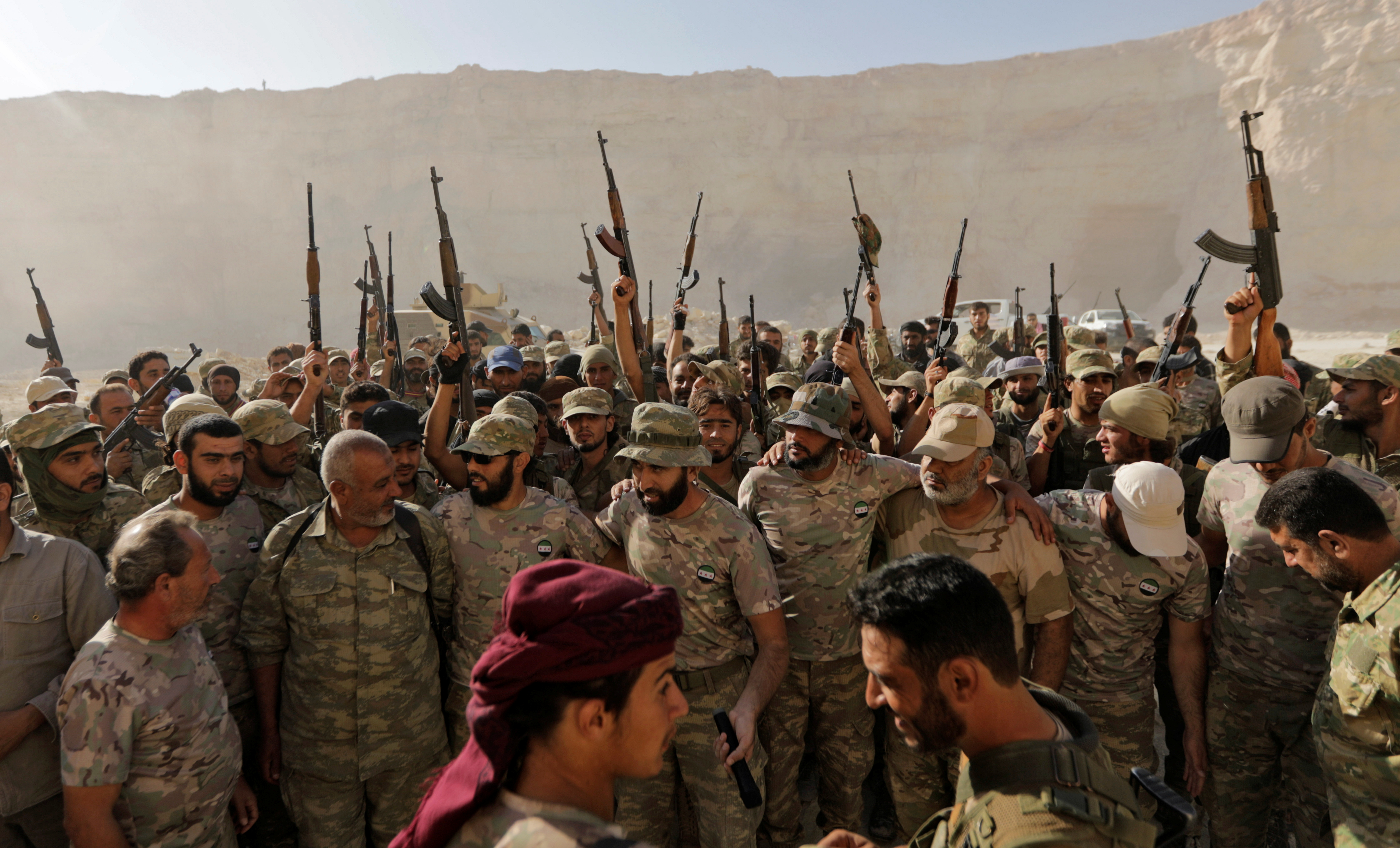 Uncle Sam's 'Moderate Rebels' Make a Comeback in Syria, But Now They're the Bad Guys