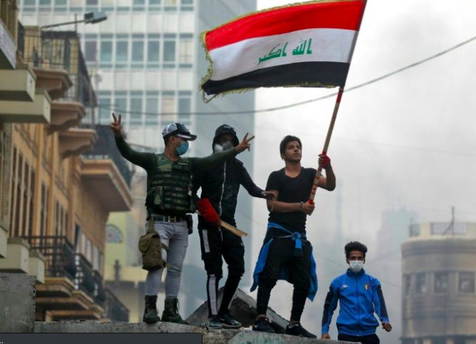 Iraq Parties Hold Talks on a New PM as Protests Continue