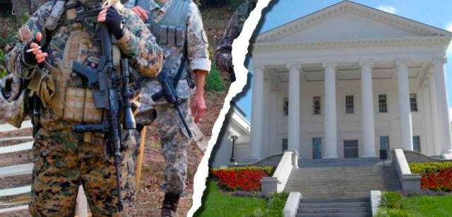 VA Declares State of Emergency to Stop 'Serious Threats of Armed Militias Storming Capitol'