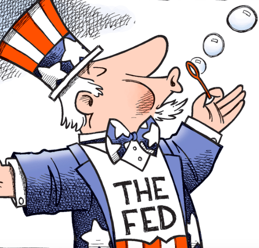 The Fed Is Running Out of Bubbles to Create