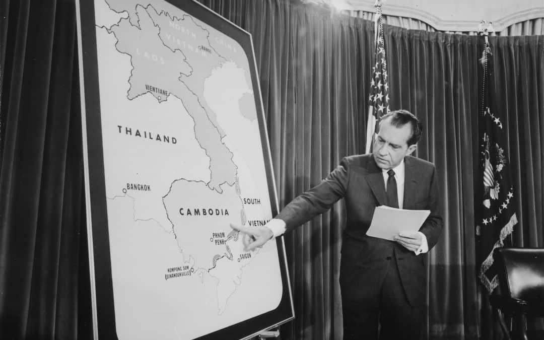 50 Years Of Unhinged, Televised Presidential Warmongering