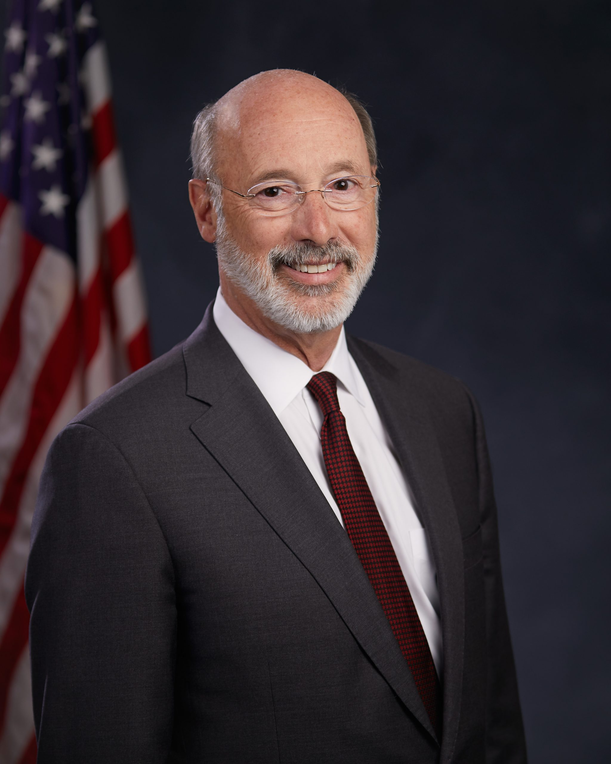 Tom Wolf Governor Portrait 2019