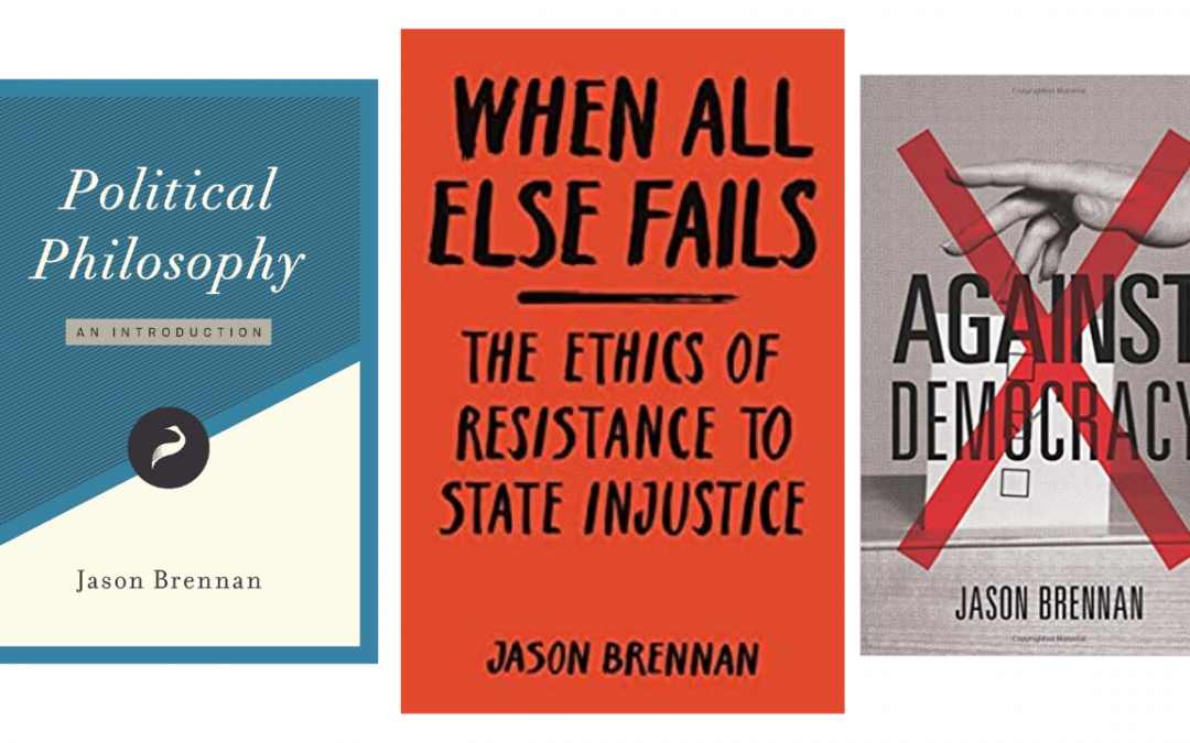 Philosophy, Democracy, Police, and the State. Jason Brennan and Keith Knight