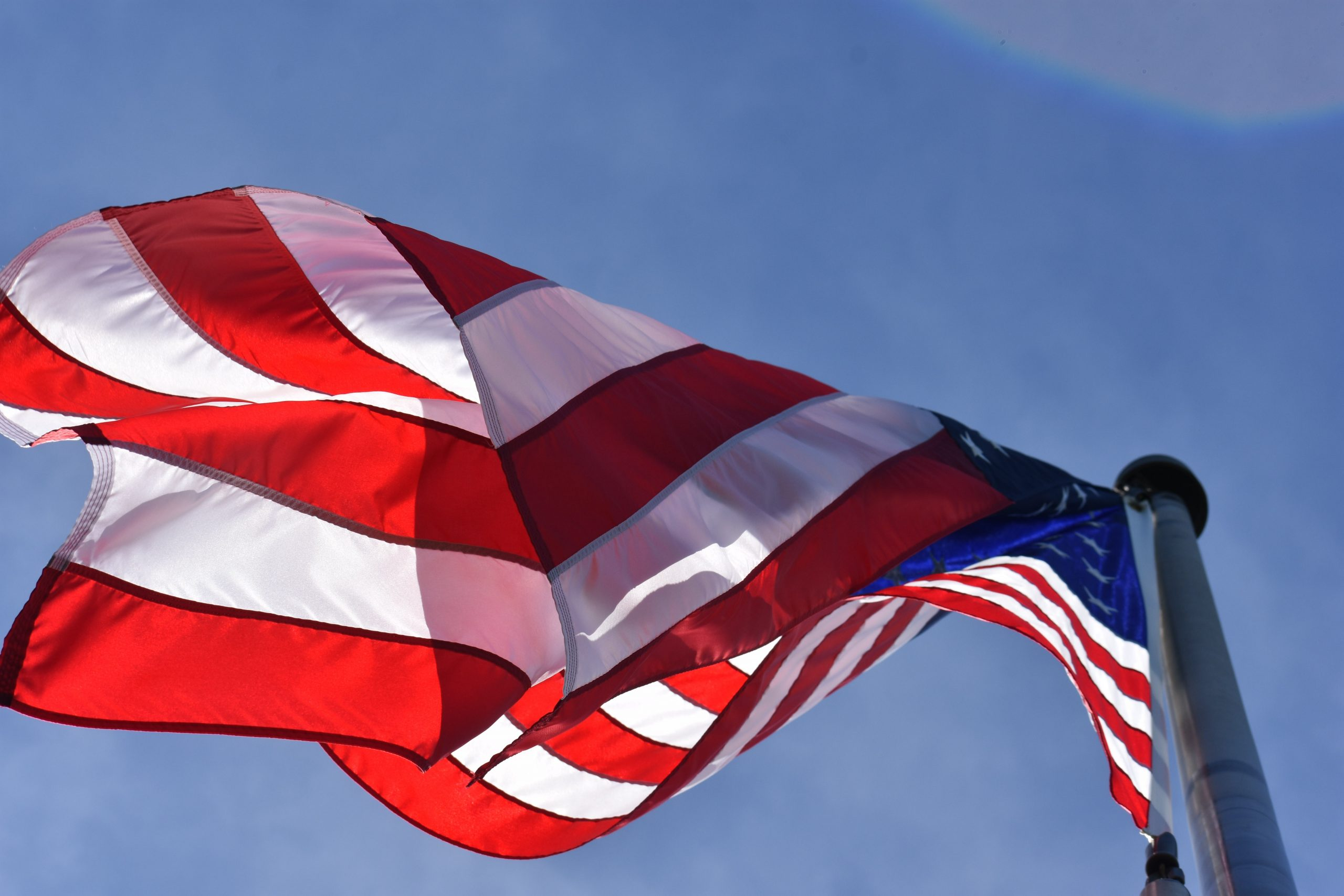 Low Angle Photography Of American Flag 774316