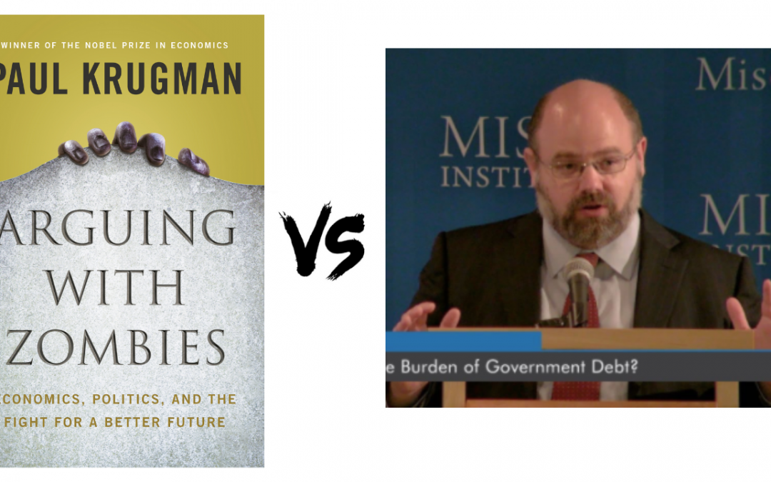 Arguing With Zombies by Paul Krugman – Book Summary and Analysis. Bob Murphy and Keith Knight