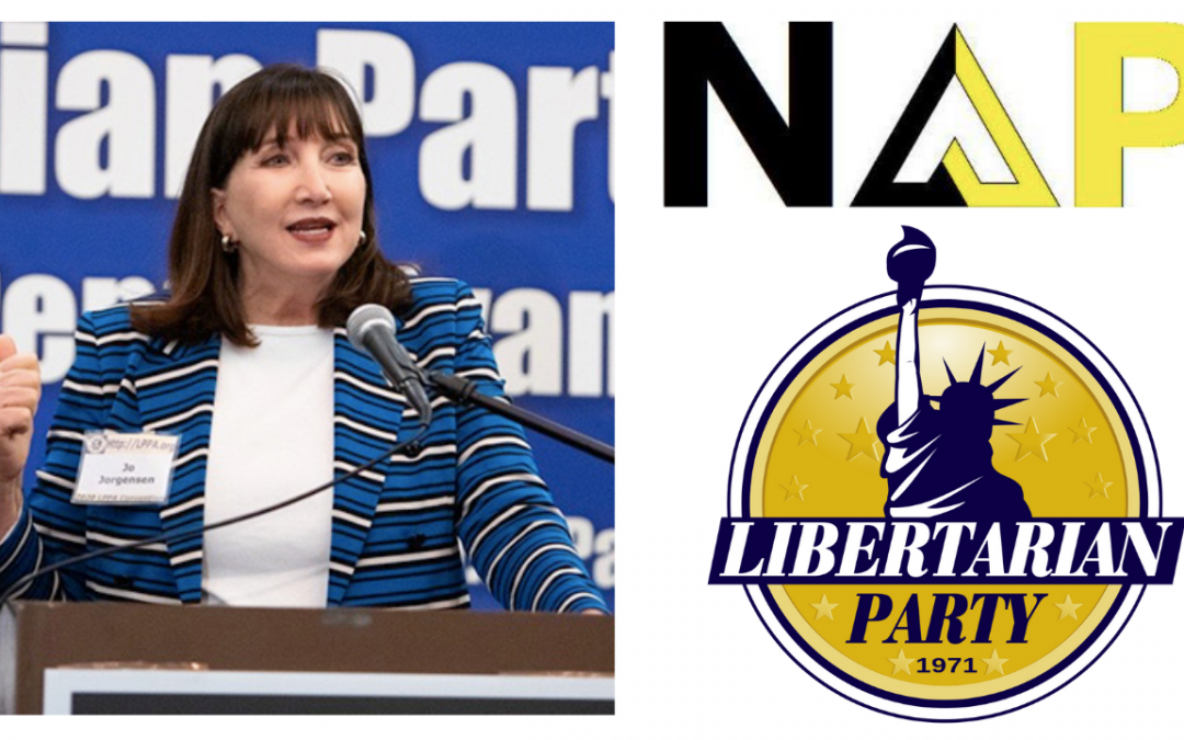 Libertarian Party Presidential Nominee Explains Her Platform – Dr. Jo Jorgensen and Keith Knight