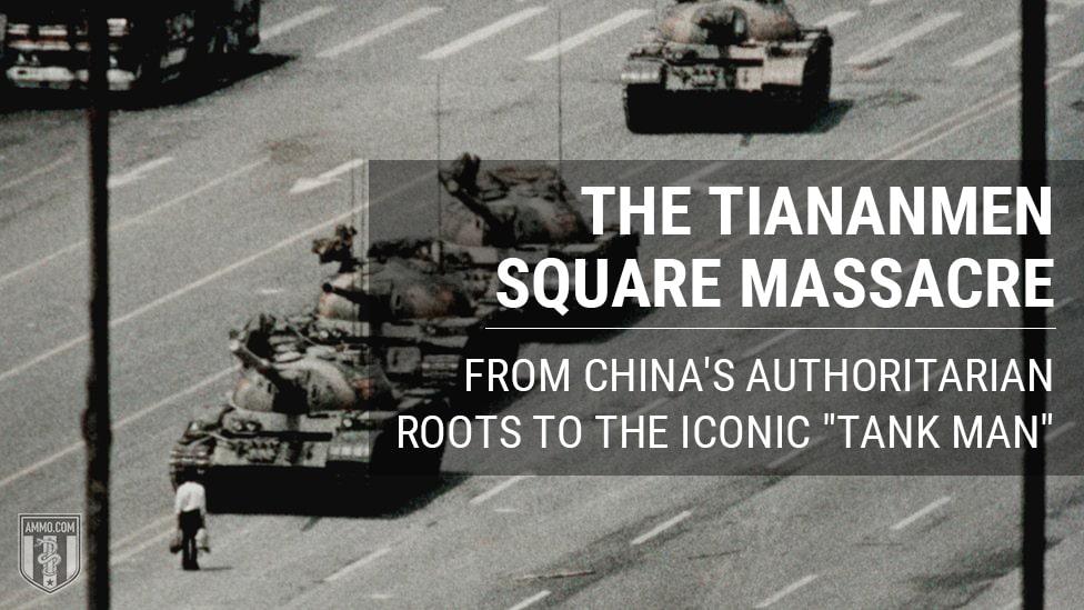 Tiananmen Square Massacre China Chinese Authoritarian Roots Tank Man Hero