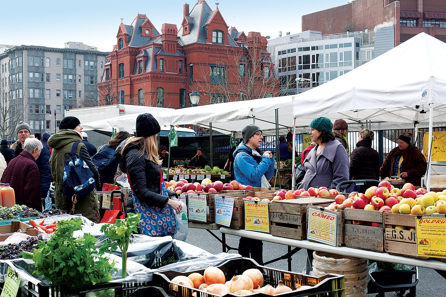 Dupont Circle Neighborhood Guide Farmersmarket