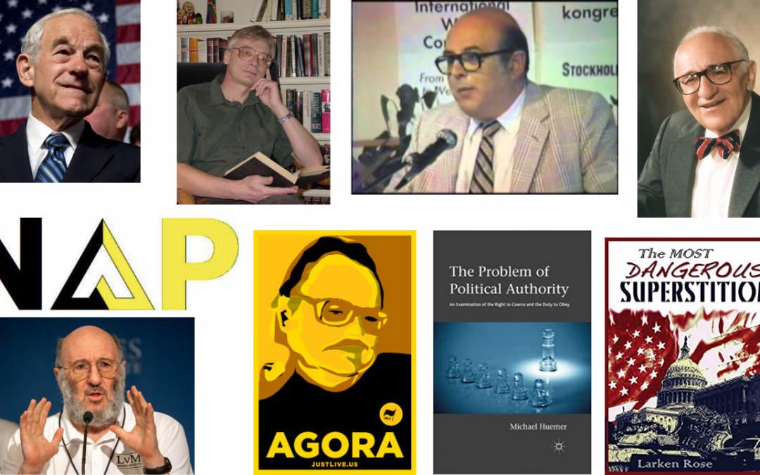 Top 10 Influential Libertarians. Sal the Agorist and Keith Knight