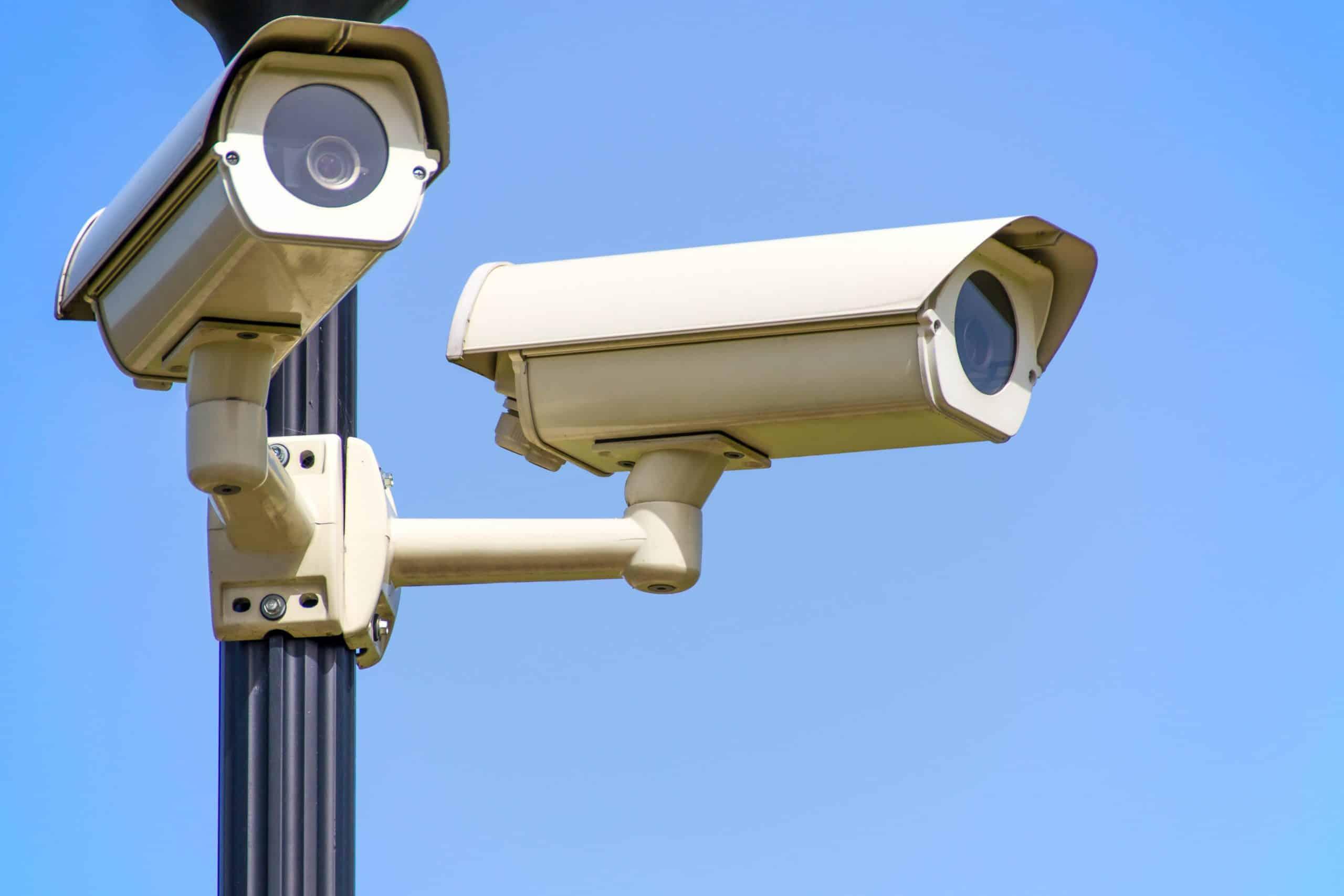 Police Blue Sky Security Surveillance 96612