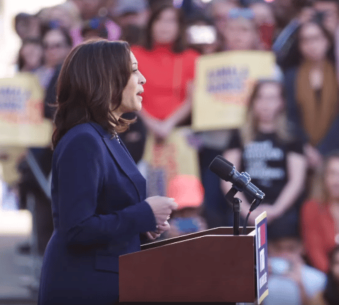 Crony Capitalist Execs Cheer Selection of Kamala Harris as Dem VP