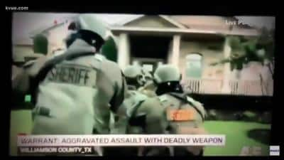 Televised Brutality: Cops Raid Man's Home For Benefit of TV Cameras