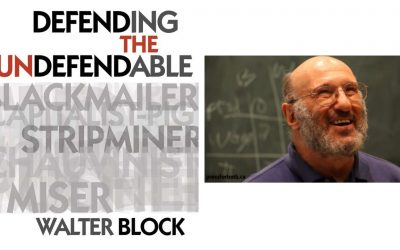 Defending Libertarianism. Walter Block and Keith Knight