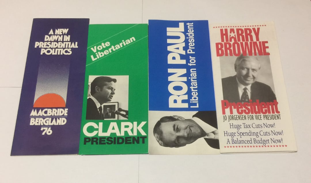 A History of Libertarian Party Presidential Messaging, 1972-1996