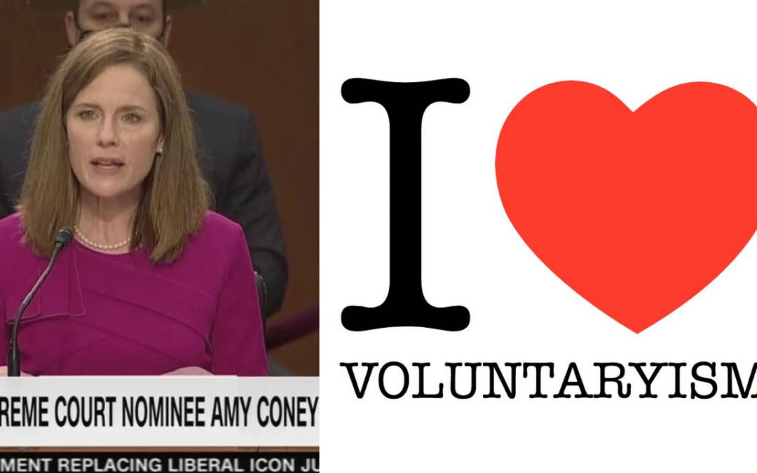 Amy Coney Barrett SCOTUS Testimony – Libertarian Lawyer Responds
