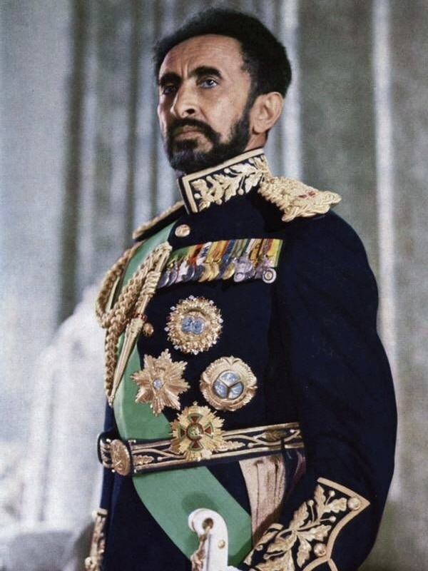 Haile Selassie In Full Dress (cropped)