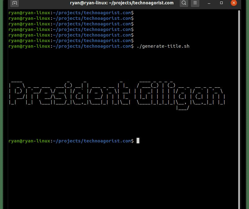 TechnoAgorist: President Gilligan