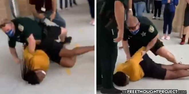 Cop Restrains Teenager, Proceeds to Slam Her Unconscious Into Concrete