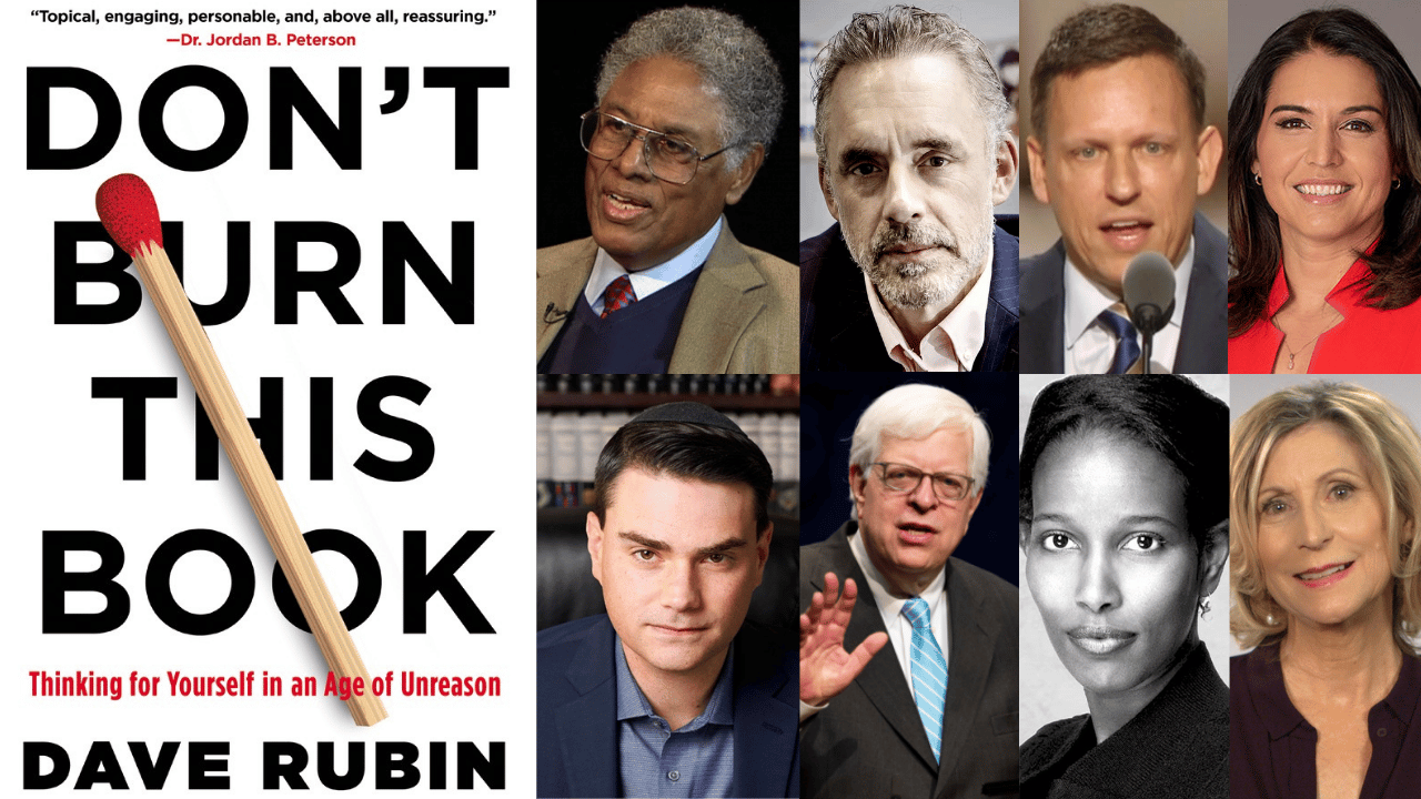My Intellectual Inspirations Dave Rubin (w: Keith Knight)