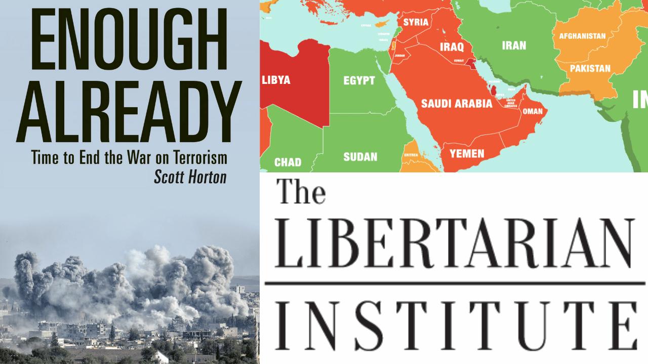 New Book Obliterates War On Terror Narrative. Scott Horton & Keith Knight