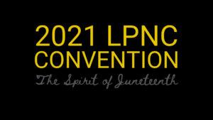 2021 convention logo libertarian party north carolina