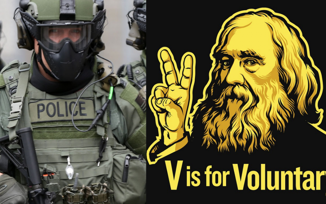 """""""I Was a Cop…Now I'm a Voluntaryist"""""""