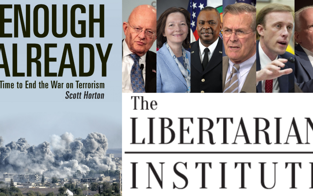 Debunking Deep State Lies About the War on Terror! Scott Horton & Keith Knight