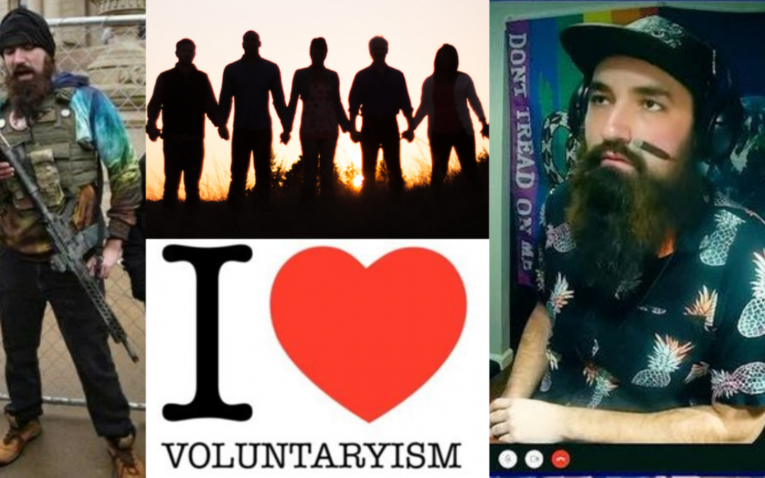 The Case for Voluntaryist Unity. Magnus Panvidya & Keith Knight