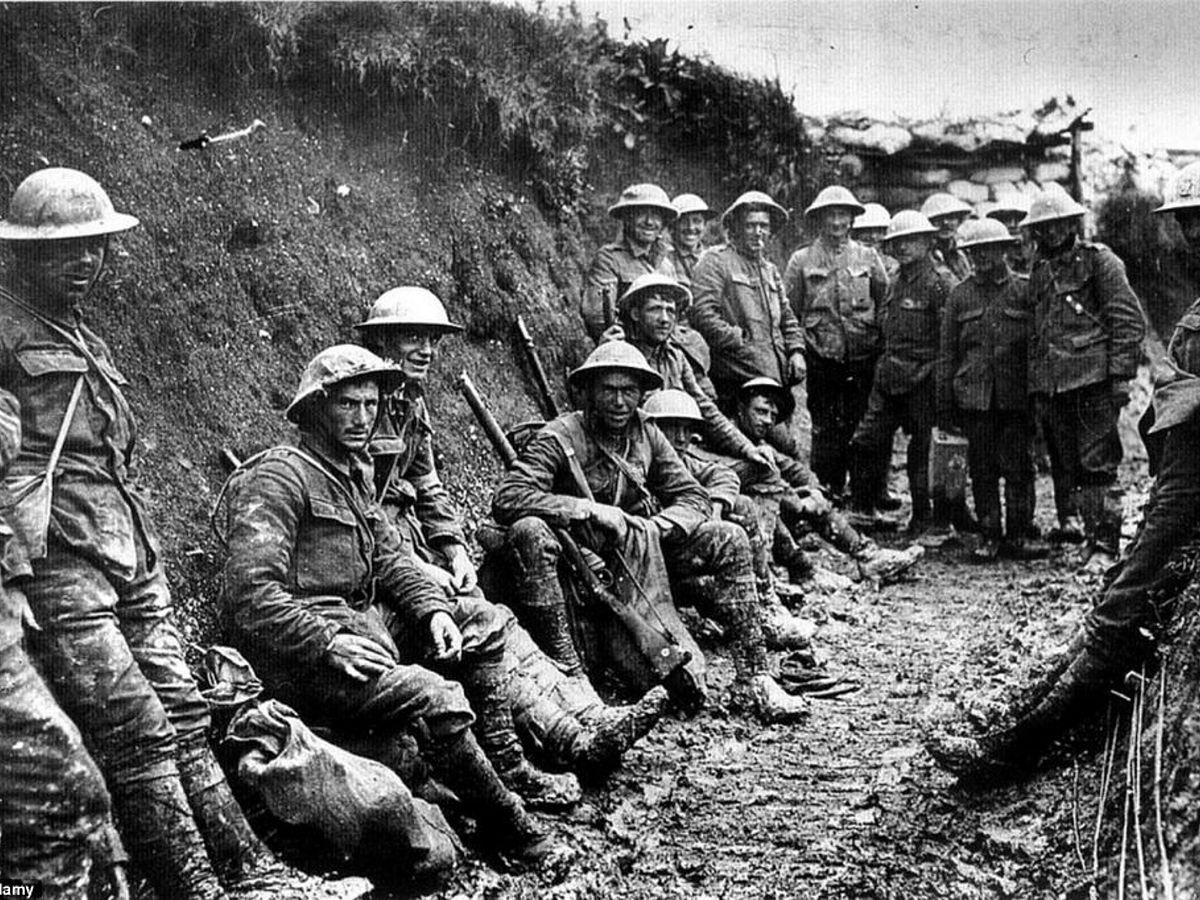 ww1 trench warfare