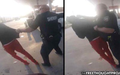 Cop Walks Up, Sucker Punches Random Teen