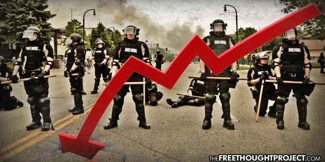Police Numbers Plummet as Killer Cops Held Accountable