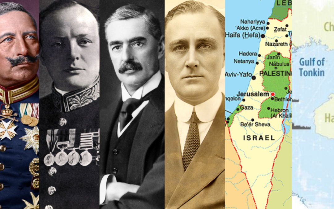 Historical Revisionism: The World Wars, Israel, & The Gulf of Tonkin. Mark Weber & Keith Knight