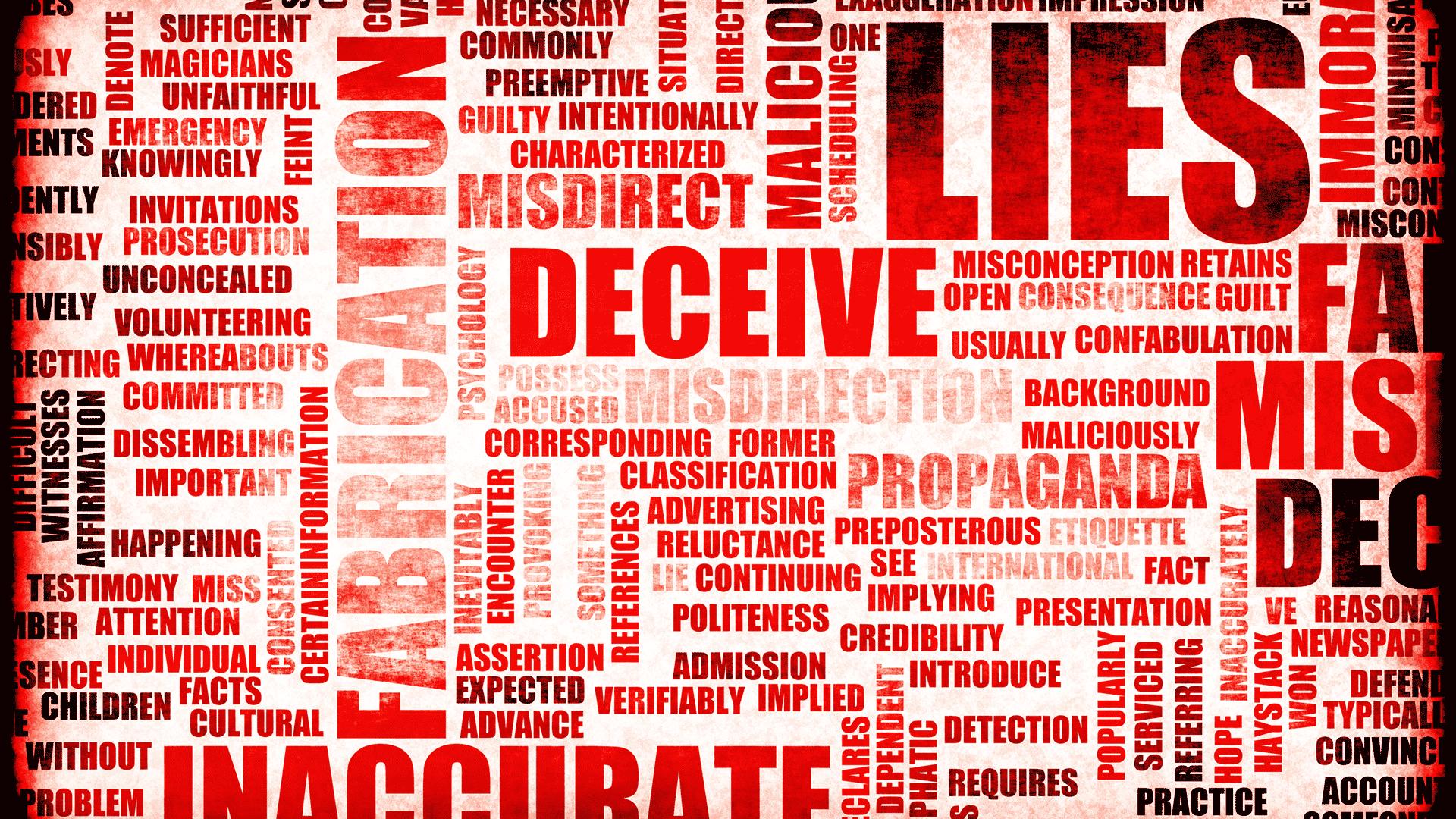 lies red