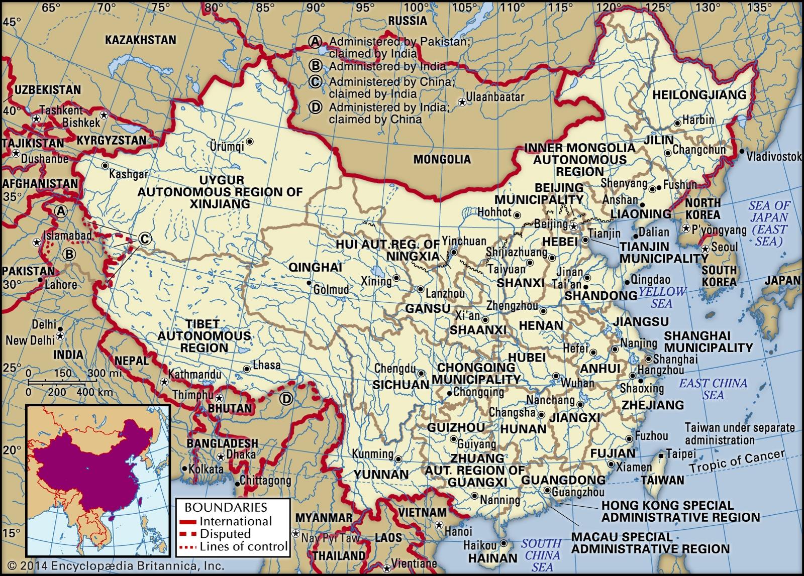 map china pinyin
