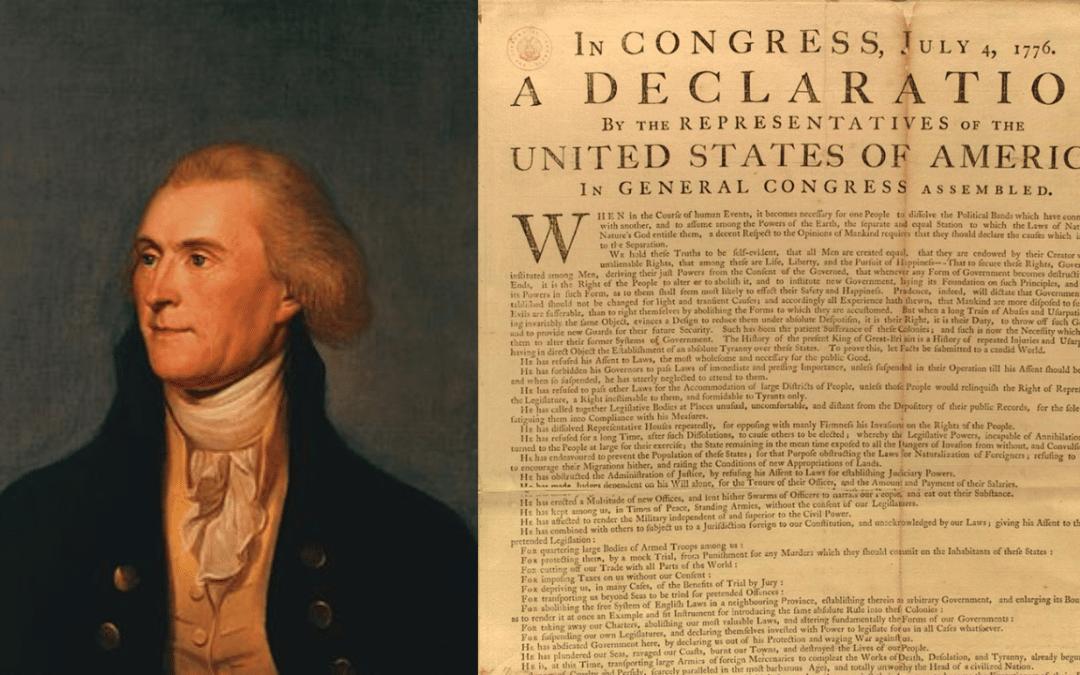 The Slavery Contradiction – Thomas Jefferson