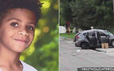 Cops Flip Car Over Speeding Ticket, Kill 12 Year Old Boy