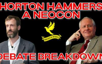 Antiwar vs Neocon: Conflicts of Interest Scott Horton – Bill Kristol Debate Breakdown